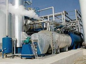 Incineration heat energy and high concentration acid recovery of waste