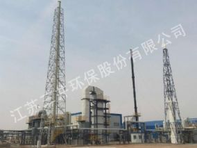 甘肃武威金仓生物科技公司高含磷、盐废水焚烧项目