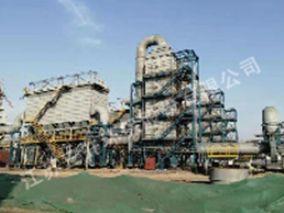 山西华强钢铁15MW煤气发电脱硝工程